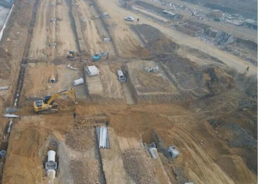 三标段205国道连接线(戴河二号路至戴河四号路)工程西起戴河二号路